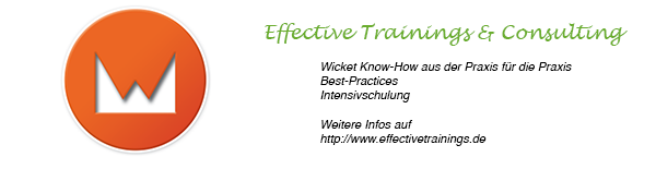 Effective Trainings Wicket Workshop